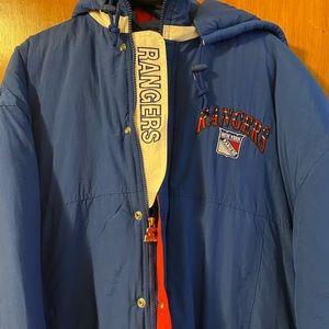 NWT Vintage New York Rangers Starter Jacket XL NHL